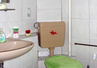 Pension Loebau Badezimmer