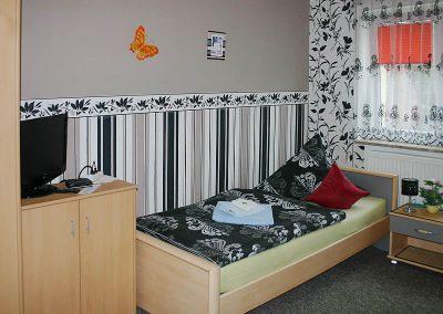 Pension Loebau Einzelzimmer1